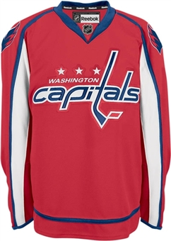 Washington Capitals Reebok Edge Red Authentic Jersey (Adult 60)