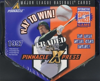 1997 Score Pinnacle XPress Baseball Metal Box