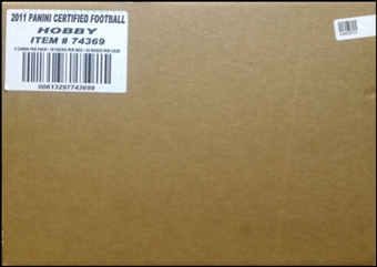2011 Panini Certified Football Hobby 24-Box Case