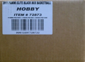 2010/11 Panini Elite Black Box Basketball Hobby 6-Box Case