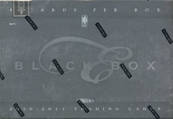 2010/11 Panini Elite Black Box Basketball Hobby Box