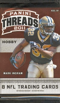 2011 Panini Threads Football Hobby Pack
