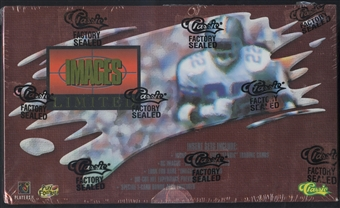 1995 Classic Images Limited Football Hobby Box