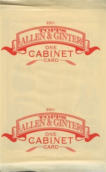 2012 Topps Allen & Ginter Baseball Cabinet Card Topper Pack