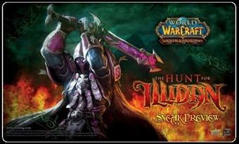 World of Warcraft The Hunt for Illidan Sneak Preview Playmat