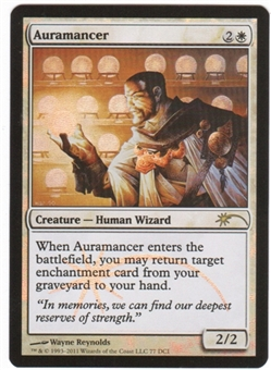 Magic the Gathering Promo Single Auramancer Foil