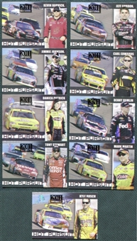 2011 Press Pass Racing National Convention 9 Card Exclusive VIP Set