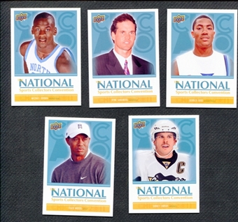 2011 Upper Deck National Convention 5 Card Exclusive Day 1 Set