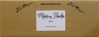 2011 Just Minors Mystery Balls Baseball Hobby 10-Box Case