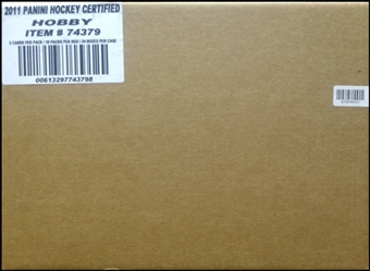 2011/12 Panini Certified Hockey Hobby 24-Box Case