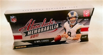 2011 Panini Absolute Memorabilia Football Hobby Pack