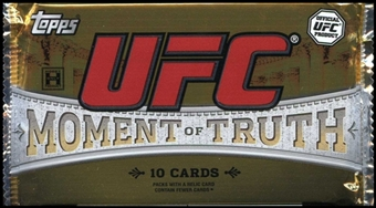 2011 Topps UFC Moment of Truth Hobby Pack