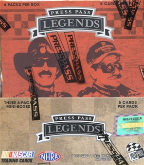 2011 Press Pass Legends Racing Hobby Box