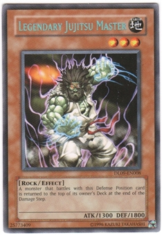 Yu-Gi-Oh Duelist League Single Legendary Jujitsu Master Green Rare