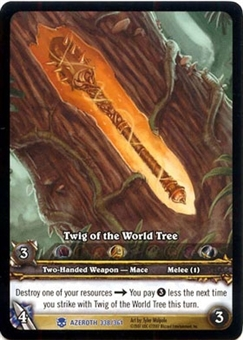 WoW Archives Single Twig of the World Tree Extended Art Foil