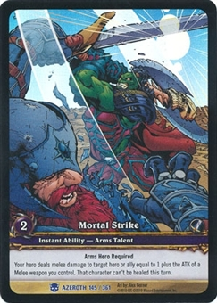 WoW Archives Single Mortal Strike Extended Art Foil