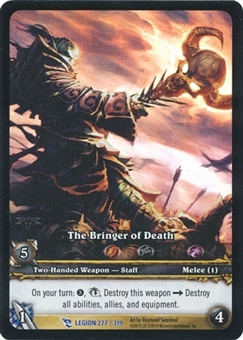 WoW Archives Single The Bringer of Death Extended Art Foil