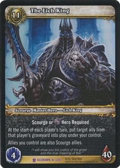 WoW Archives Single The Lich King NM/MT