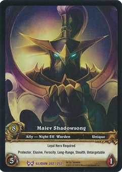WoW Archives Single Maiev Shadowsong Extended Art Foil