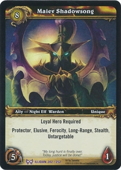 WoW Archives Single Maiev Shadowsong NM/MT Foil