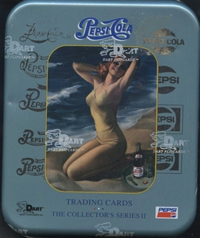 Pepsi Collector's Series 2 Hobby Box (TIN) (1995 Dart Flipcards)