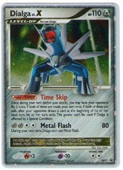 Pokemon Diamond & Pearl Single Dialga lv. X DP37