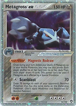 Pokemon Power Keepers Single Metagross ex 95/108