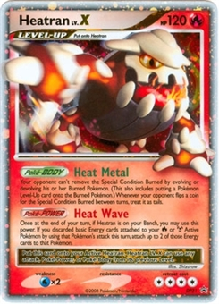 Pokemon Diamond & Pearl Single Heatran lv. X DP31