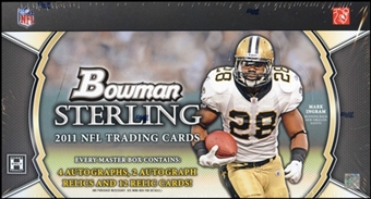 2011 Bowman Sterling Football Hobby Box