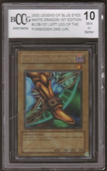 Yu-Gi-Oh BEWD 1st Ed. Single Left Leg of the Forbidden One Ultra Rare BCCG 10