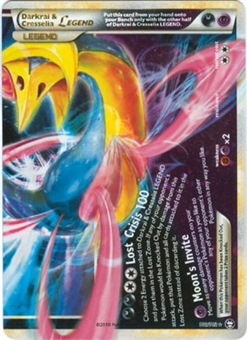 Pokemon Triumphant Single Darkrai & Cresselia Legend (Bottom) 100/102