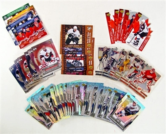 2007/08 McDonald's Upper Deck Hockey Complete Set with Inserts