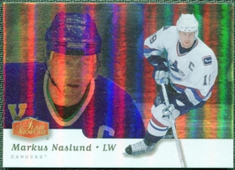 2006/07 Flair Showcase #299 Markus Naslund Executive Lounge SSP