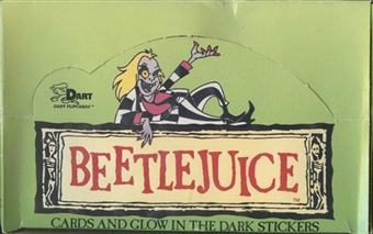 Beetlejuice Wax Box (1990 Dart)