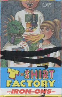 T-Shirt Factory Wax Box (1988 Topps)