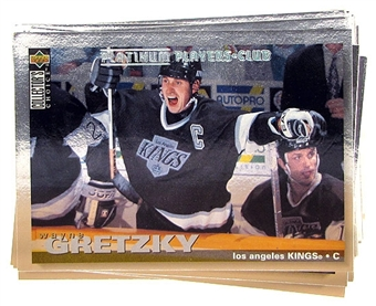 1995/96 Upper Deck Collector's Choice Hockey Complete Master Set with Parallels