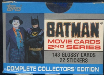Batman Movie Series 2 Factory Set (1989 Topps)