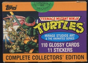 Teenage Mutant Ninja Turtles Factory Set (1989 Topps)
