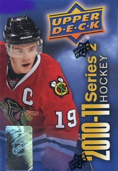 2010/11 Upper Deck Series 2 Hockey Retail Pack (Lot of 120)