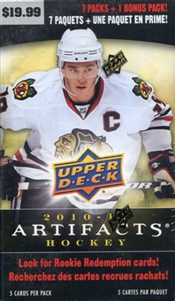 2010/11 Upper Deck Artifacts Hockey 8 Pack Box