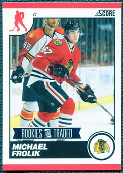 2010/11 Score #587 Michael Frolik 10 Card Lot
