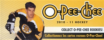 2010/11 Upper Deck O-Pee-Chee Hockey 36-Pack Lot