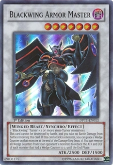 Yu-Gi-Oh Crow Single Blackwing Armor Master Super Rare