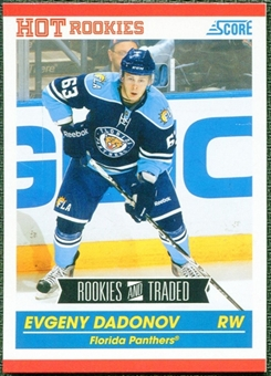 2010/11 Score #596 Evgeny Dadonov 10 Card Lot