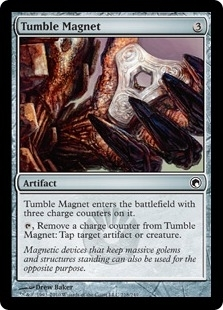 Magic the Gathering Scars of Mirrodin Single Tumble Magnet Foil