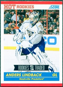 2010/11 Score #603 Anders Lindback RC 10 Card Lot