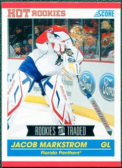 2010/11 Score #609 Jacob Markstrom RC 10 Card Lot