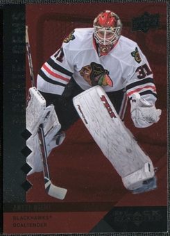 2009-10 Upper Deck Black Diamond Ruby #210 Antti Niemi Rookie Card RC /100