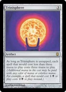 Magic the Gathering Darksteel Single Trinisphere - SLIGHT PLAY (SP)