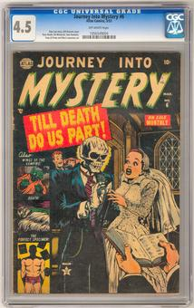 Journey Into Mystery #6 CGC 4.5 (OW) *1056549004*